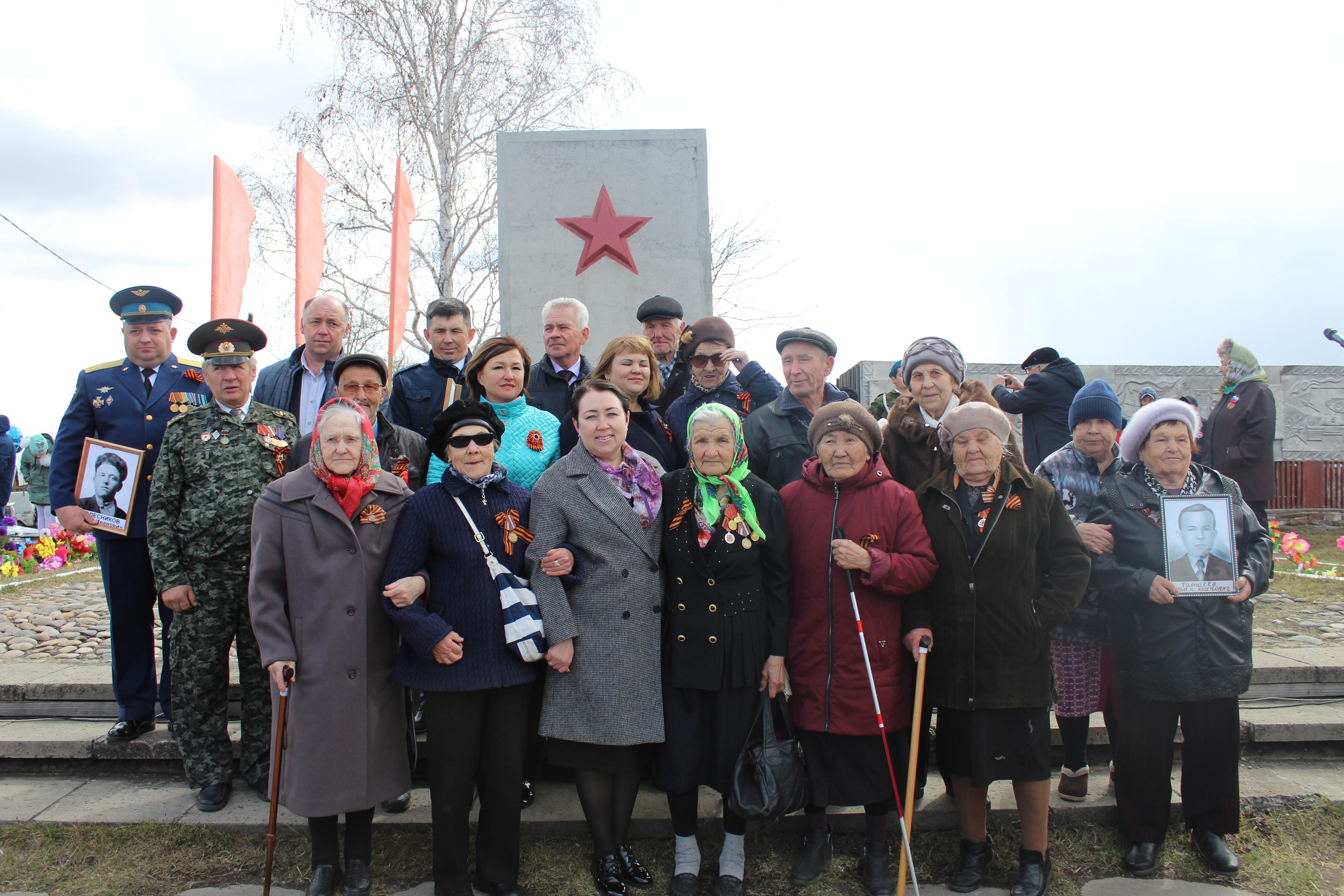 В Качуге отпраздновали 74 годовщину Победы в Великой Отечественной войне.
