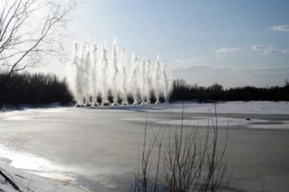 Принято решение о проведении взрывных работ по ликвидации заторов на реке Бирюса Тайшетского района