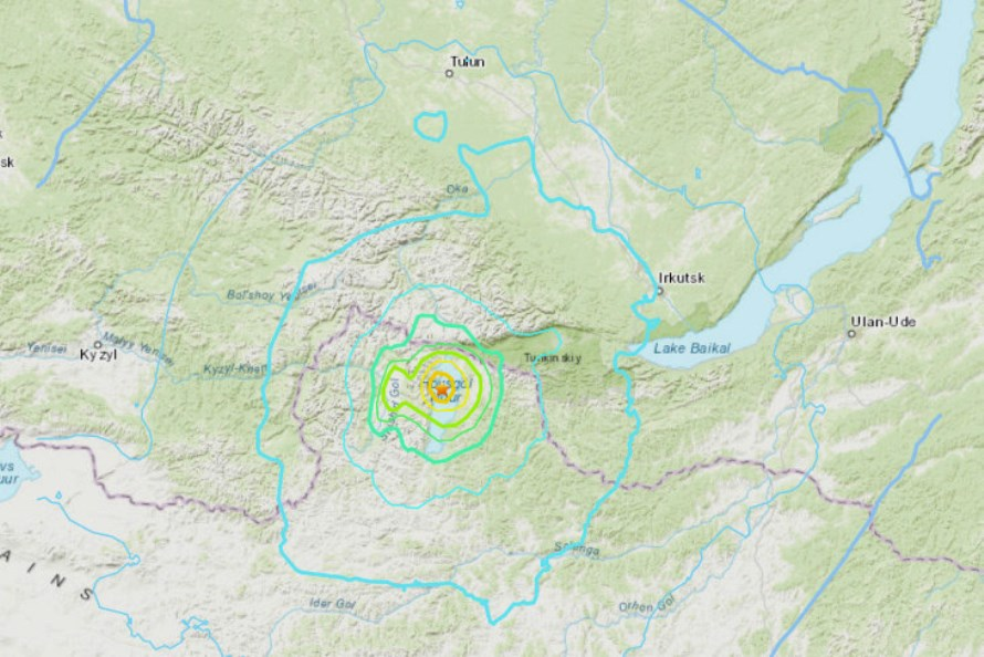 В районе ощущались отзвуки землетрясения