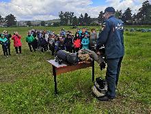 Молодёжь прибайкалья против пожаров - продолжается Карымское поселение Куйтунского района встречали гостей