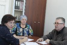 На приеме у представителя областного министерства здравоохранения