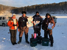 Мороз рыбалке не помеха
