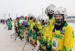Соревнования по хоккею на кубок мэра Черемховского района среди школьников