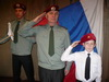 В Лесогорской школе №4 прошло посвящение в кадеты