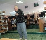 В. Поливцев, поэт из р.п. Железнодорожный
