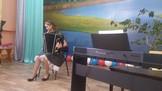 регионального конкурса «Байкальская звезда», выпускница Ескина Оля