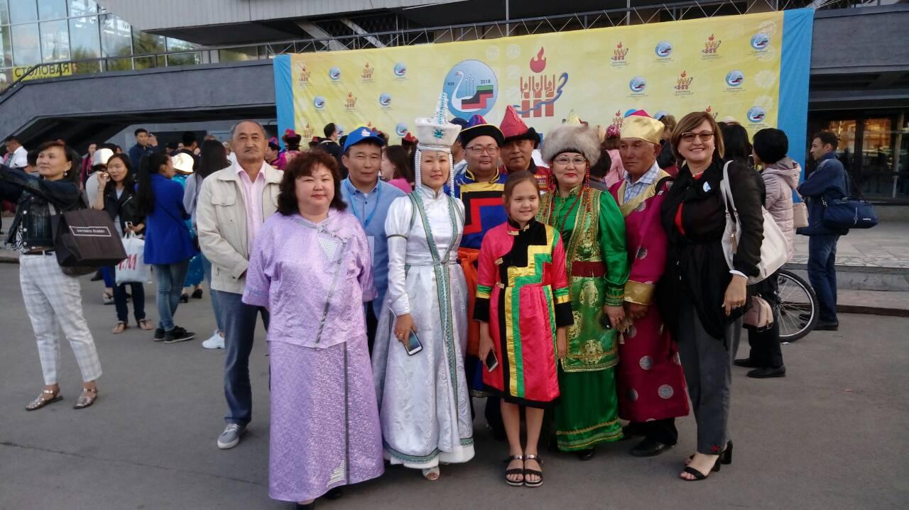 Качугцы на бурятском национальном фестивале «Алтаргана – 2018»