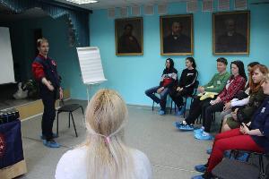Молодежь тренирует важные навыки