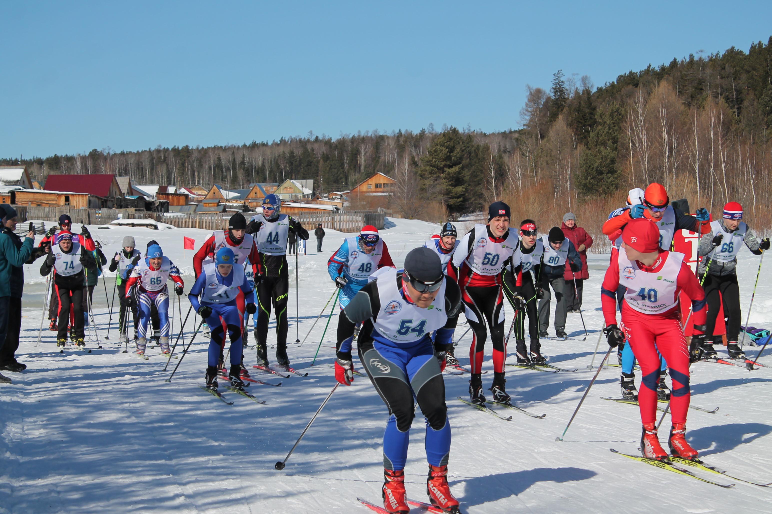 Лыжный марафон памяти тренера-преподавателя, мастера спорта СССР Алексея Красилова