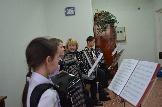 Работа меховой инструментальной группы оркестра