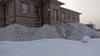 Снег с дороги сгребли к Пенсионному фонду