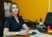 лейтенант юстиции Брюханова Анастасия Сергеевна, следователь отделения по расследованию неочевидных преступлений следственного отдела ОМВД России по Чунскому району