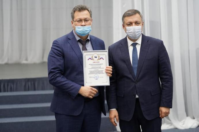 Усть-Илимский район наградили за эффективность