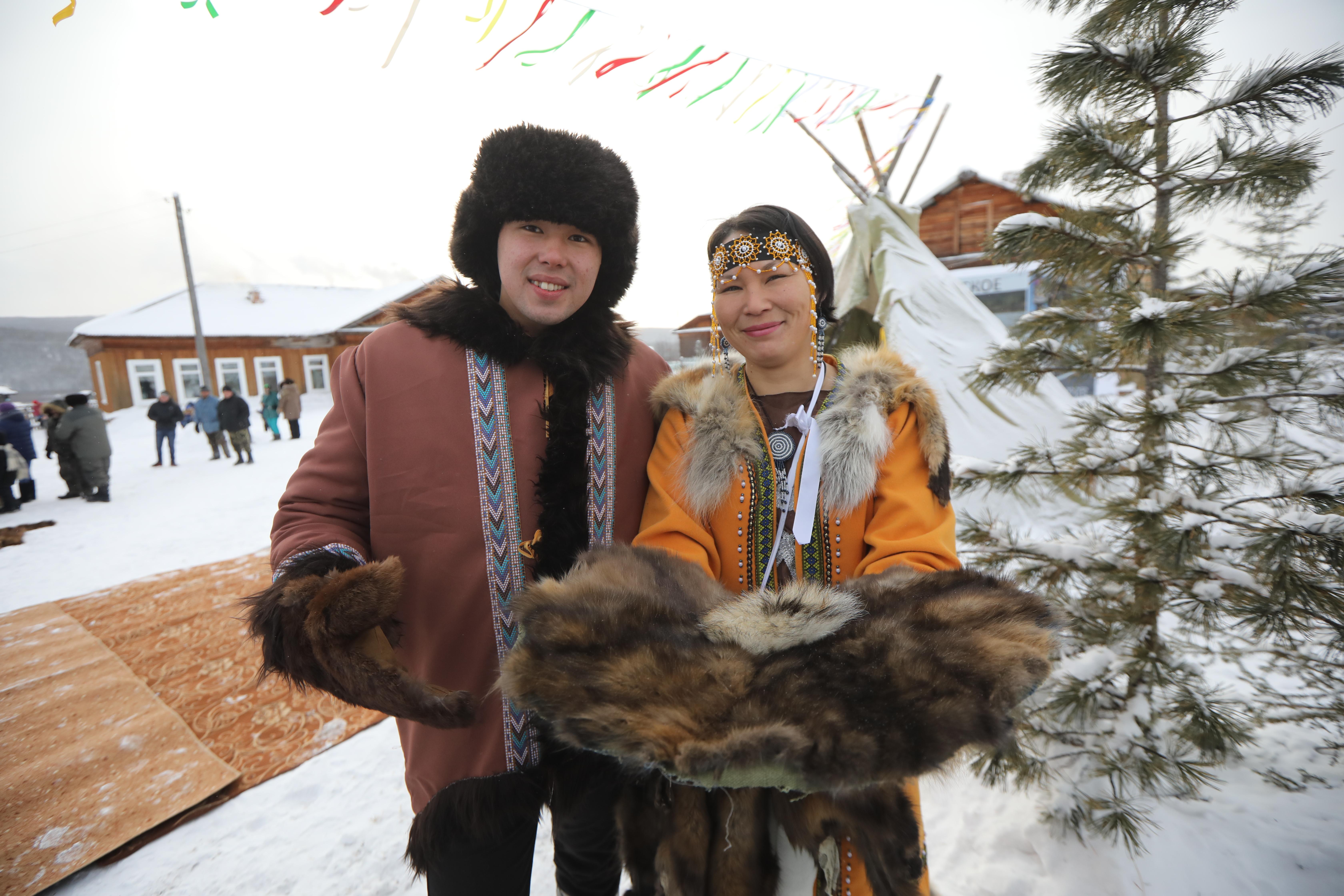 Эвенкийская свадьба по традициям предков
