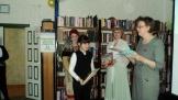 Награждение лауреата областного конкурса литературного творчества «Мир, в котором я хочу жить» Лея Светланы