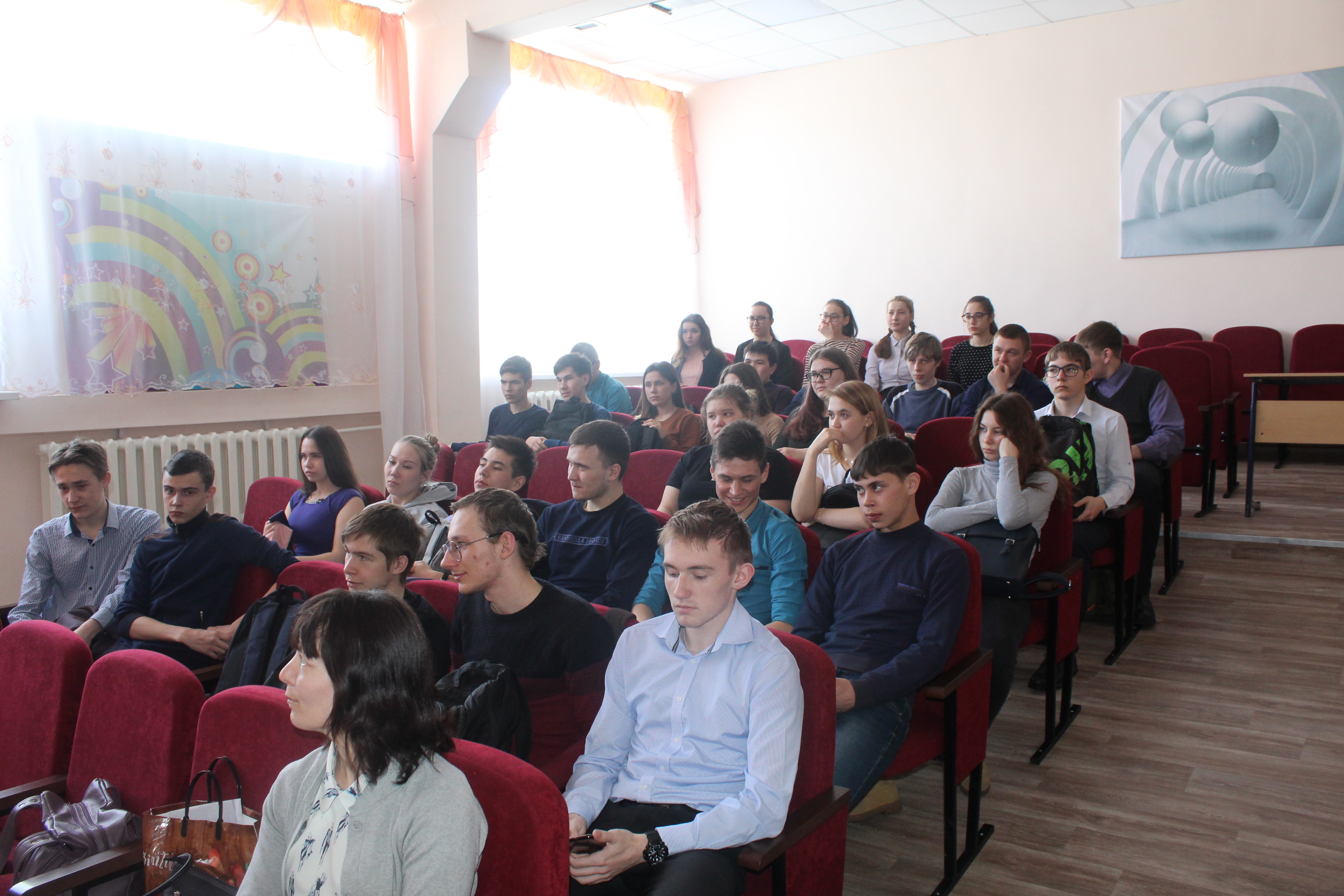 Просветительская лекция в МКОУ Качугской СОШ № 1 о патриотическом воспитании молодежи