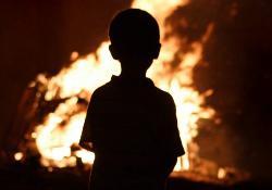 Гибель детей на пожаре в Черемховском районе