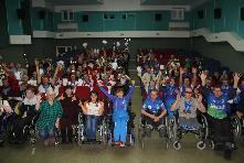 Команда Куйтунского района приняла участие в Спартакиаде, посвященной декаде инвалидов