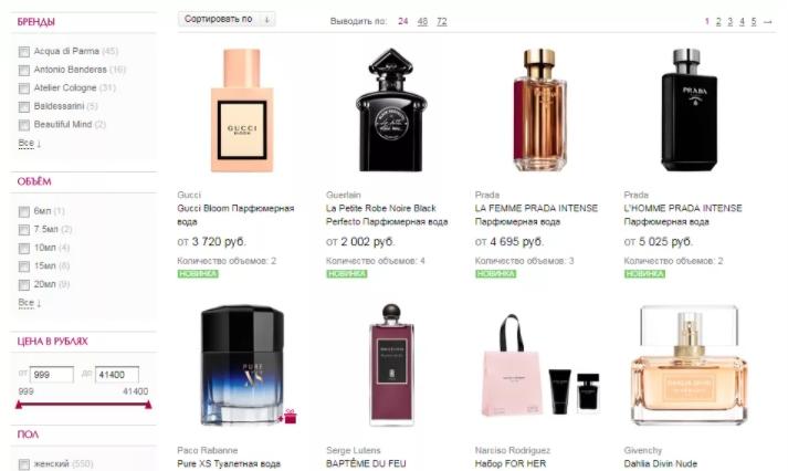 Особенности дистанционной купли-продажи парфюмерной продукции