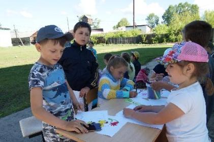 В образовательных учреждениях Тайшетского района работают оздоровительные детские площадки