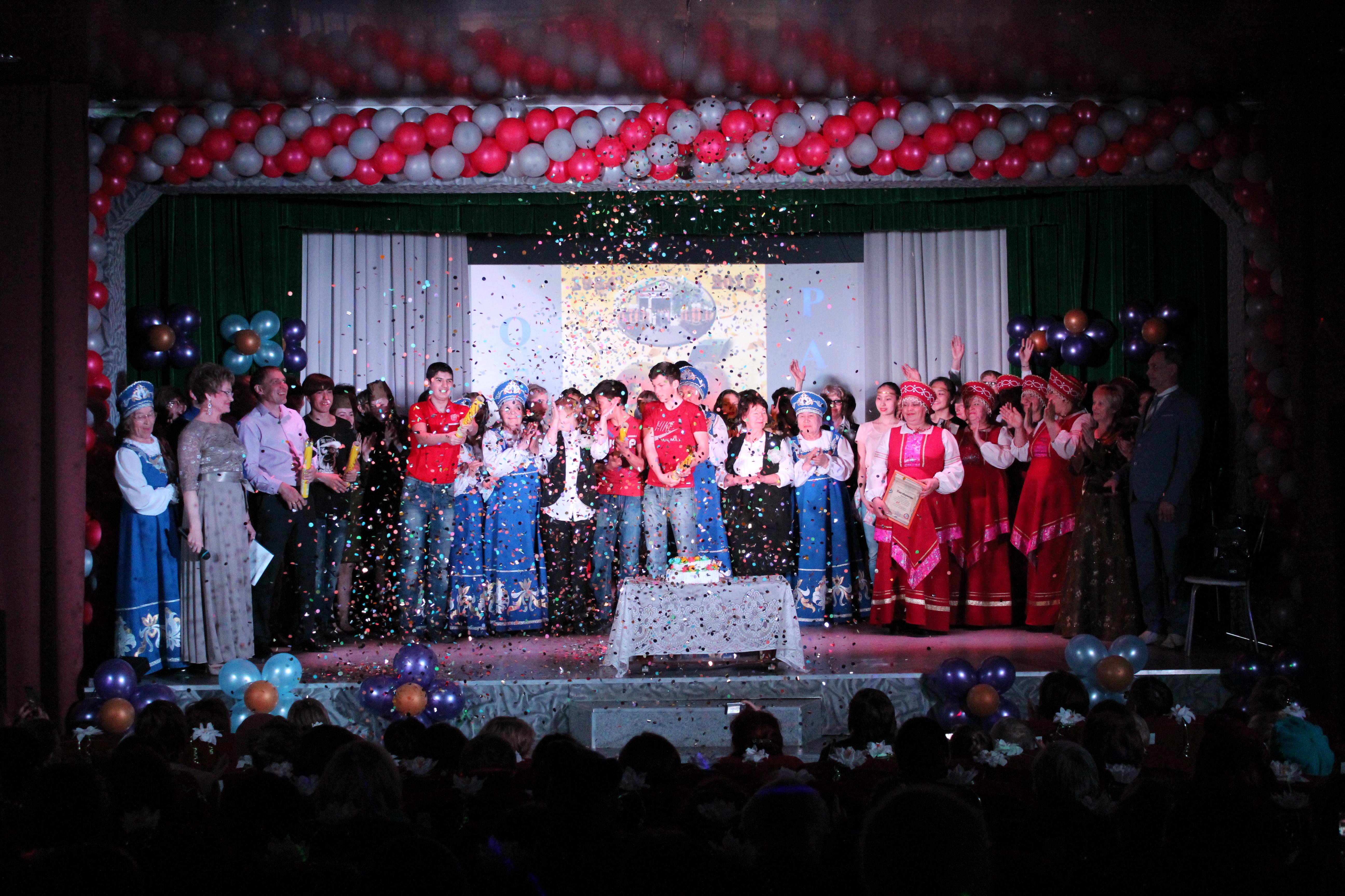 МКУК Межпоселенческий центральный Дом Культуры  им. С. Рычковой  отметил 85 - ый Юбилей!