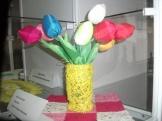 тюльпаны из синтепона