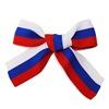 Сувенир к Дню России. Волонтеры раздают трехцветные ленточки
