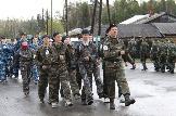 Взвод МОУ Ершовская СОШ