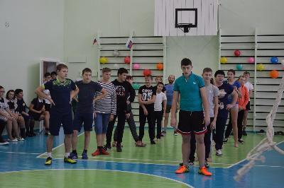 Светлый, чистый, новый: в Тубинском торжественно открыли школьный спортивный зал