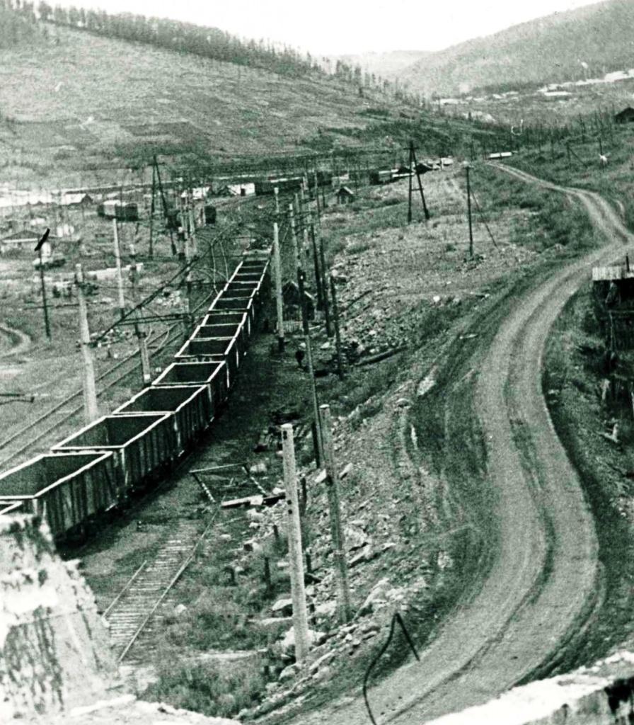 Станция Затопляемая, вид с моста (27 июня 1974 г.).jpg
