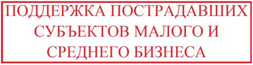 Баннер - Поддержка пострадавших СМСП.png
