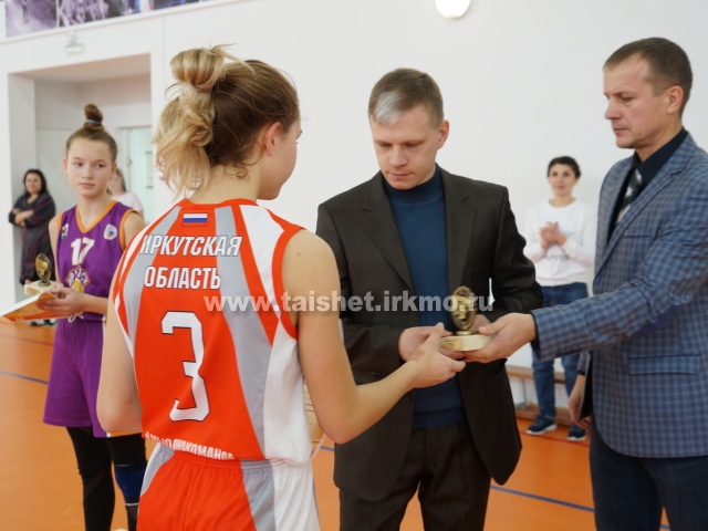 Баскетболистки Братска выиграли первенство Приангарья