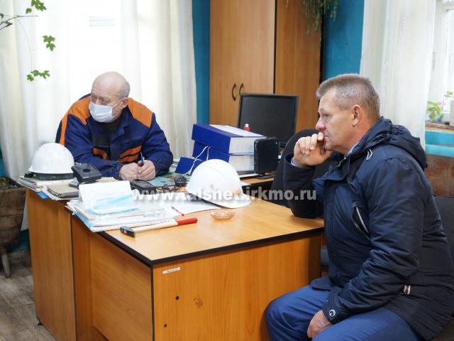 Мэр района проинспектировал работу котельной