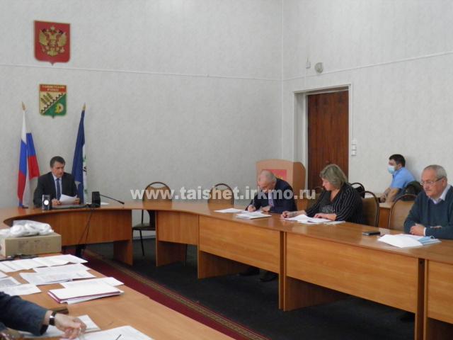 Заседание Комиссии по предупреждению и ликвидации ЧС в Тайшетском районе.
