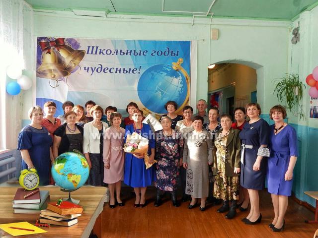 Соляновская СОШ отметила 65-летний юбилей