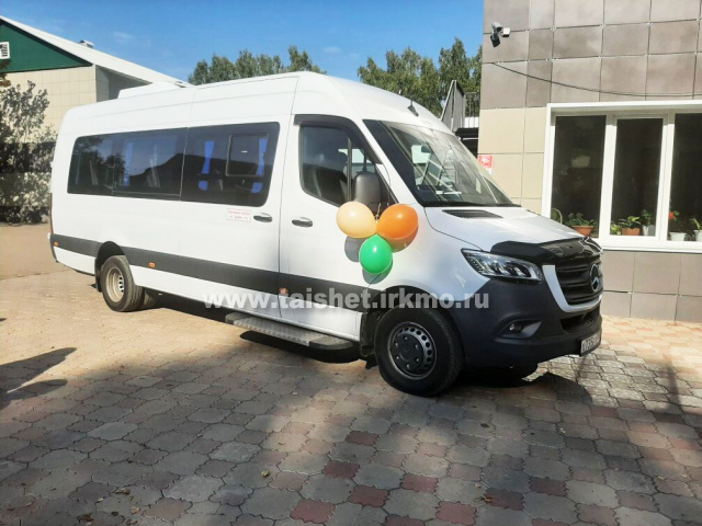 Приобретен новый автобус высокого класса для РДК «Юбилейный»