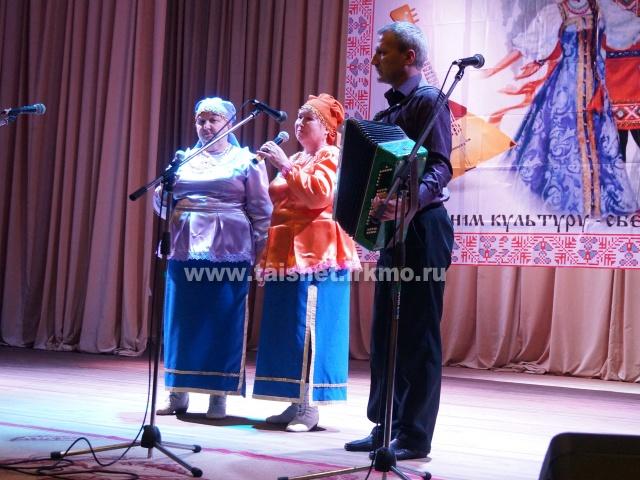 В Тайшетском районе прошёл межрайонный фестиваль  «Играй гармонь, звени частушка»