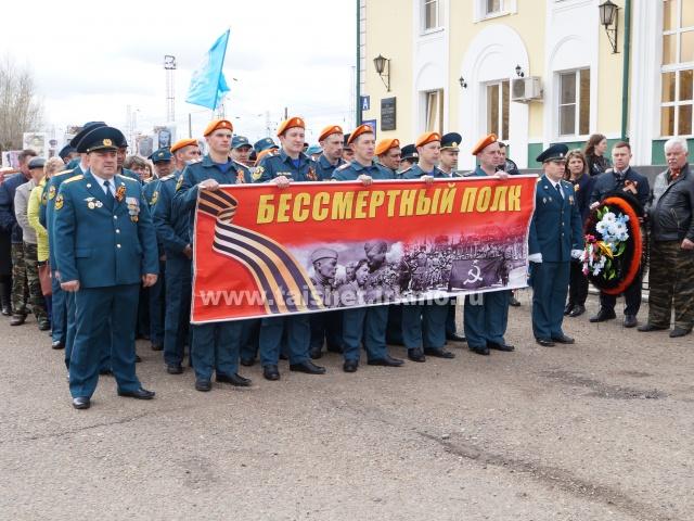 В Тайшете прошли митинги в честь Дня Победы. Фото.