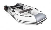 Лодка ПВХ Таймень NX 3200 НДНД светло-серый/графит Л-526