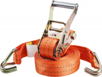 """Ремень Stayer 40562-8 """"PROFESSIONAL"""" для крепления груза, ширина ленты 35мм, нагрузка до 2000кг, длина 8м"""