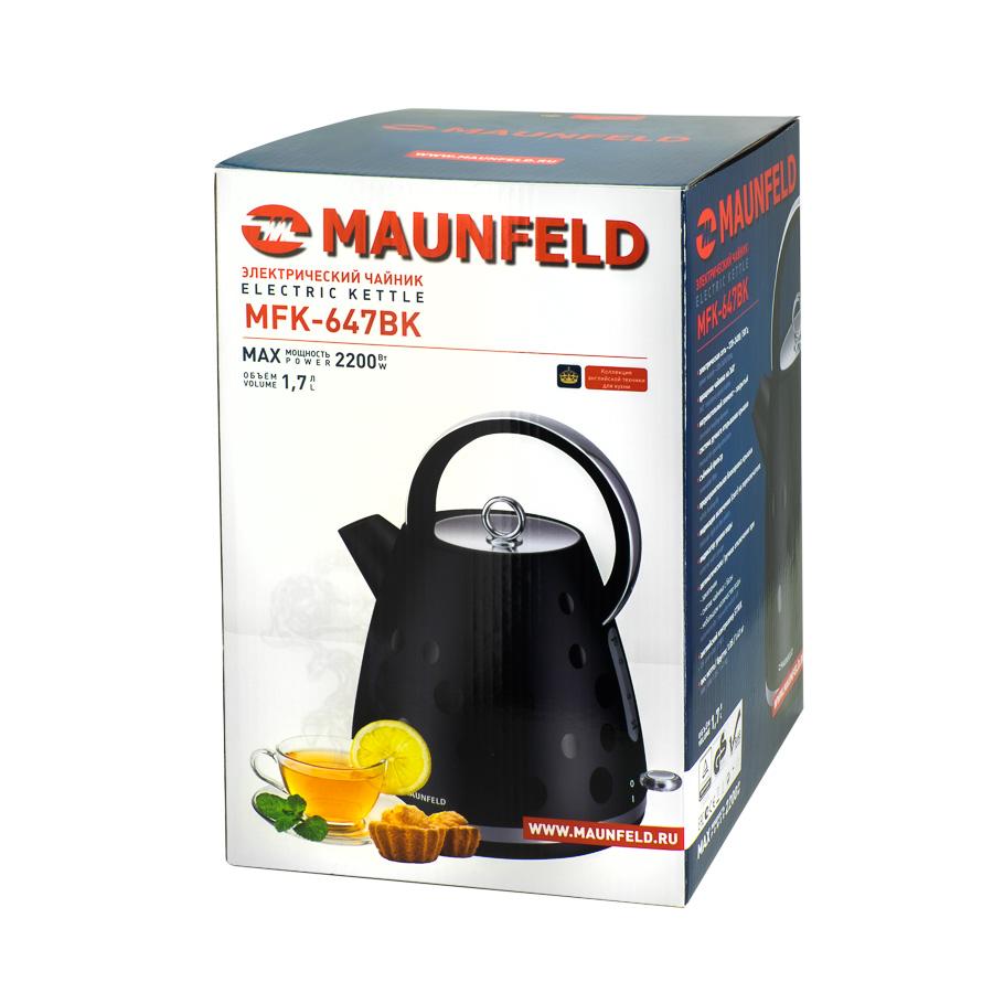 Электрочайник Maunfeld MFK-647 BK