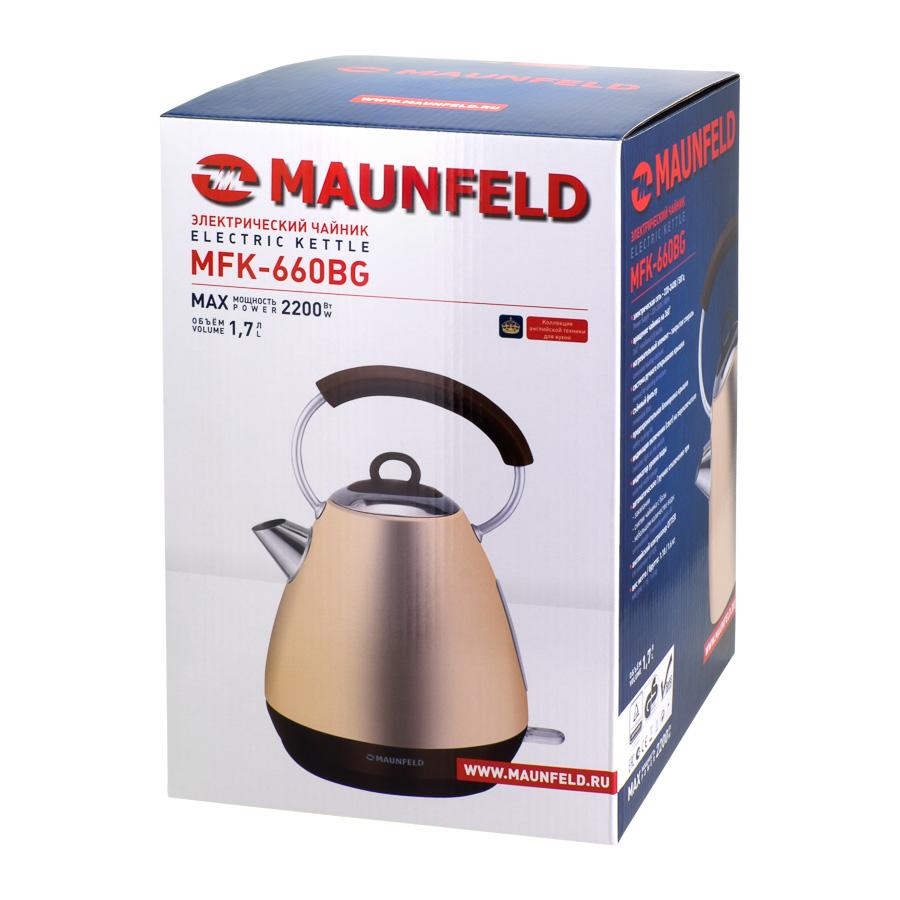 Электрочайник Maunfeld MFK-660 BG