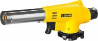 Газовая горелка с пъезоподжигом на баллон с цанговым соединением Stayer MaxTerm MG100 55584
