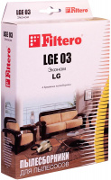 Пылесборники Filtero LGE 03 (4) Эконом