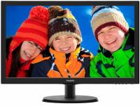 """Монитор 21.5"""" Philips 223V5LHSB/00(01) Black (LED, 1920x1080, 5 ms, 170°/160°, 250 cd/m, 10M:1, +HDMI)"""