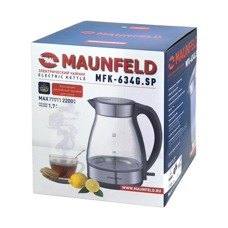 Электрочайник Maunfeld MFK-634G.SP