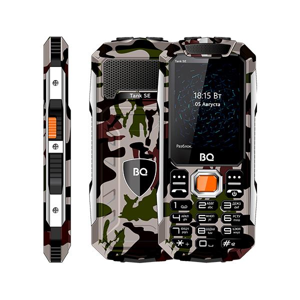 Сотовый телефон BQ 2432 Tank SE Camouflage