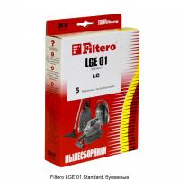 Мешки-пылесборники Filtero LGE 01 Standard, 5шт, бумажные