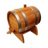 Бочка дубовая Экспорт-2 10 литров