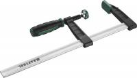 """Струбцина Kraftool 32011-080-300, тип """"F"""", DIN 5117, двухкомпонентная ручка, 80х300мм"""